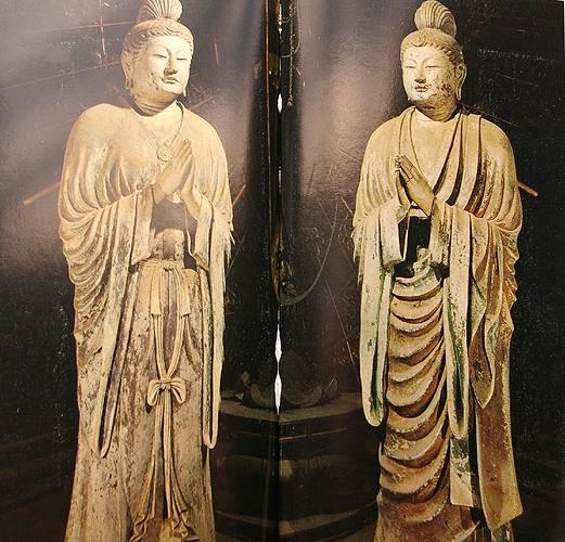 天平時代の仏像5:日光・月光菩...