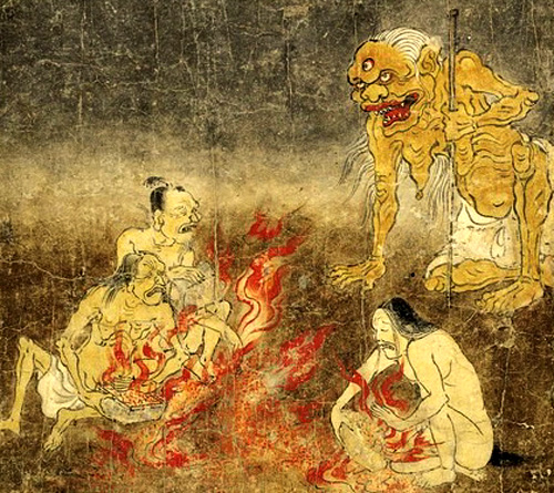 地獄草紙2(奈良国立博物館本)